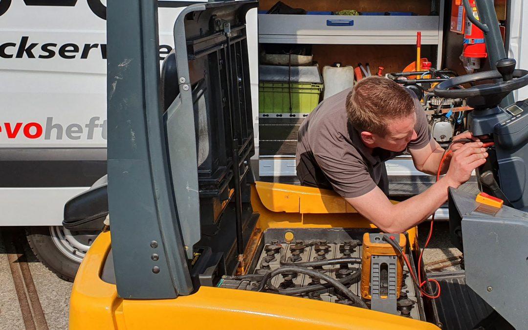 Service en onderhoud voor uw hef- en magazijntrucks